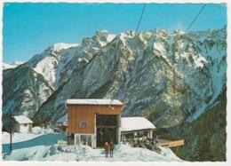 NIGGENKOPFSTUBLE AND SKI LIFT, BRAND, AUSTRIA. POSTED 1966 - Bludenz
