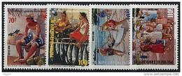 Polynésie, N° 574 à N° 577** Y Et T - Polinesia Francesa
