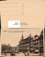 630287,Bruxelles Brüssel Un Coin De La Grand Place Et Maison Du Roi Groote Markt Belg - Belgien