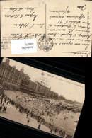 630270,Ostende Vue Generale De La Digue Vers Le Chalet Royal Strandleben Belgium - Ohne Zuordnung