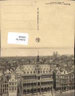630268,Bruxelles Brüssel Panorama Pris De L Hotel De Ville Vers L Eglise Sainte Gudul - Belgien