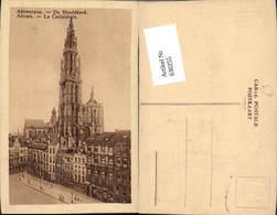 630255,Anvers Antwerpen De Hoofdkerk La Cathedrale Belgium - Belgien