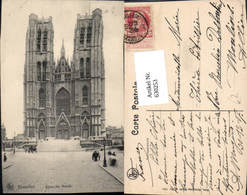 630253,Bruxelles Brüssel Eglise Ste Gudule Kirche Belgium - Ohne Zuordnung