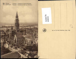 630252,Anvers Antwerpen Cathedrale Et Coude D Austruweel Hoofdkerk Panorama Belgium - Ohne Zuordnung