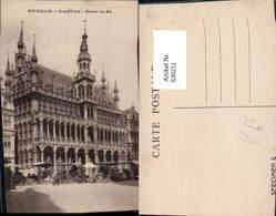 630251,Bruxelles Brüssel Grand Place Maison Du Roi Belgium Stempel Specimen 5 - Ohne Zuordnung