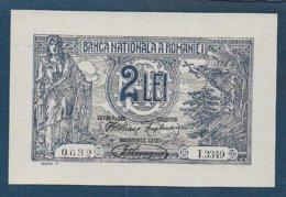 ROUMANIE -    Billet 2 Lei - Grèce