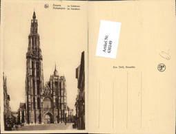 630249,Anvers Antwerpen La Cathedrale De Hoofdkerk Belgium - Belgien