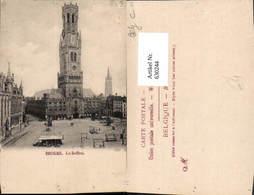 630244,Bruges Brügge Le Beffroi Belgium - Belgien