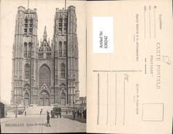 630242,Bruxelles Brüssel Eglise Ste-Gudule Kirche Belgium - Ohne Zuordnung