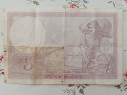5 Francs 5/12/1940 - 1871-1952 Antiguos Francos Circulantes En El XX Siglo