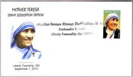 MADRE TERESA - MOTHER TERESA. Liberty Township OH 2010 - Madre Teresa