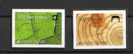 2011 MNH Iceland, From Booklets Postfris** - 2011