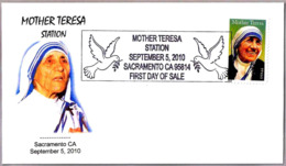 MADRE TERESA. MOTHER TERESA. Sacramento CA 2010 - Madre Teresa