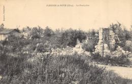 CPA 60 PLESSIER DE ROYE LE PRESBYTERE   Guerre 194 1918 - France