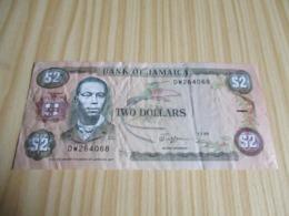 Jamaïque.Billet 2 Dollars Bogle 01/07/1989 - Giamaica