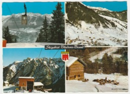 SKI RESORT, BRAND, BLUDENZ, AUSTRIA. MULTIVIEW - Bludenz