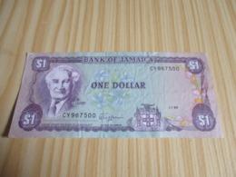 Jamaïque.Billet 1 Dollar Bustamante. 01/07/1989 - Giamaica