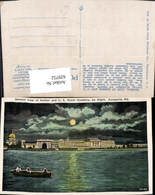 629752,General View Of Harbor And U.S. Naval Academy By Night Annapolis Maryland - Vereinigte Staaten