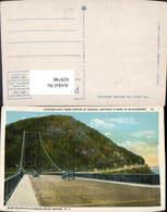629748,Looking East From Centre Of Bridge Bear Mountain Hudson River Bridge New York - NY - New York