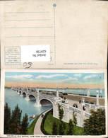 629738,New Belle Isle Bridge View Form Island Detroit Michigan Brücke - Vereinigte Staaten