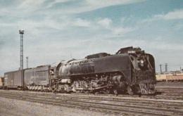 Union Pacific 835 Northern Type,at North Platte,Neb., Ungelaufen - Trains