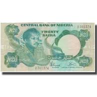 Billet, Nigéria, 20 Naira, KM:26b, TTB - Nigeria