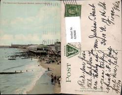 629688,The Beach And Esplanade Review Asbury Park New Jersey - Vereinigte Staaten