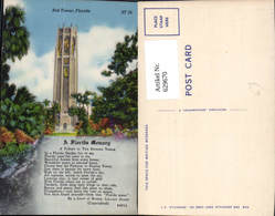 629670,Bok Tower Florida  A Florida Memory The Singing Tower - Vereinigte Staaten