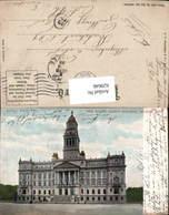 629646,New Wayne County Building Detroit Michigan - Vereinigte Staaten