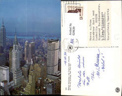 629639,Midtown Manhattan With Empire State Chrysler And Pan Am Buildings New York Cit - NY - New York