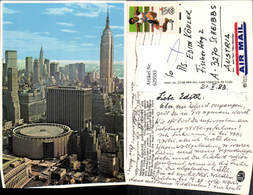 629593,New York City Skyline Madison Square Garden Center New York City - NY - New York
