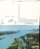 629574,Aerial View Of Belle Isle Detroit Michigan - Vereinigte Staaten