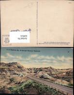 629531,U.S. Highway No 10 Through Montana Badlands - Ansichtskarten