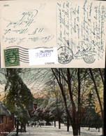 629526,Winter Scene At Notre Dame Academy Putnam Connecticut - Ansichtskarten