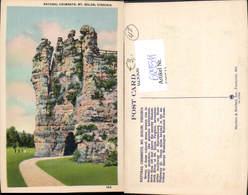 629511,Natural Chimneys Mount Solon Harrisonburg Virginia - Ansichtskarten