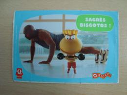 AUTOCOLLANT QUICKOS SACRE BISCOTO ! - Stickers