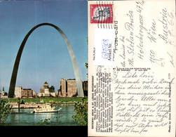 629508,St Louis Waterfront Gateway Arch Missouri - Ansichtskarten