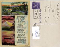 629506,Willamette Mount Hood From Lost Lake Oregon - Vereinigte Staaten