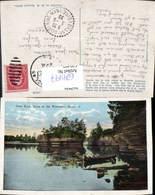 629497,Lone Rock Dells Of The Wisconsin River Wisconsin - Ansichtskarten