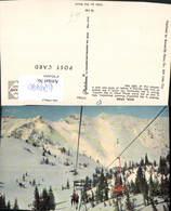 629490,Alta Wasatch Mountains Skilift Wintersport Utah - Ansichtskarten