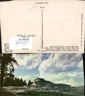 629488,Castle Geyser Cone Yellowstone National Park Wyoming - Ansichtskarten