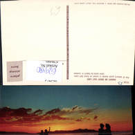 629480,Sunset On Great Salt Lake Salt Lake City Utah - Ansichtskarten