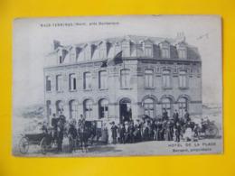 Cpa Dunkerque Malo 59 Nord Hôtel De La Plage Animée - Malo Les Bains