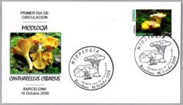 CANTHARELLUS CIBARIUS. Seta - Mushroom. SPD/FDC Barcelona 2009 - Hongos