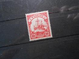 D.R.Mi 22 - 10Pf*MLH - Deutsche Kolonien ( TOGO )  1913 - Mi 2,00 € - Kolonie: Togo