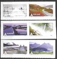 Norwegen Norge Norway Norvège 2010 Tourism Tourismus MiNr. 1714-19 Postfrisch Mint Neuf MNH ** - Norwegen
