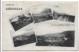 Saluti Da Garbagna (Alessandria). Vedutine. - Alessandria