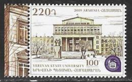 ARMENIA , 2019, MNH,EDUCATION, YEREVAN UNIVERSITY,  1v - Other