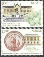 Norwegen Norge Norway Norvège 2010 DKNVS MiNr. 1734-35 Postfrisch Mint Neuf MNH ** - Norwegen