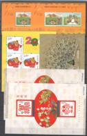 China Nach 2000 , 6 Postfrische Blöcke - 1949 - ... People's Republic